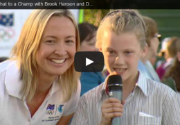 Telstra Chat to a Champ with Brook Hanson and Duncan Armstrong