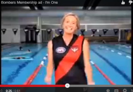 Essendon Bombers Membership ad